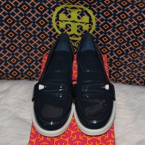 TORY BURCH POCKET-TEE GOLF LOAFERS